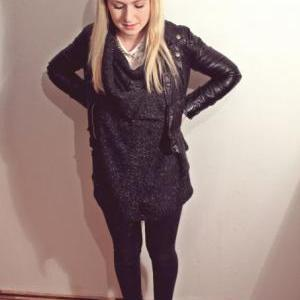 Knitted Casual Cardigan Sweater In ..