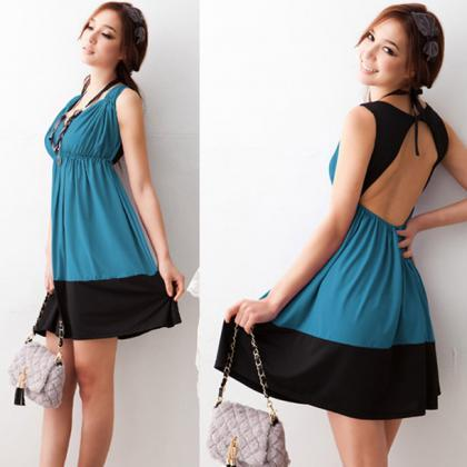 Free Shipping Sexy V Neck Cutout Ba..