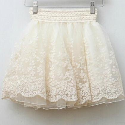 Retro Princess Lace Skirts FS102606..