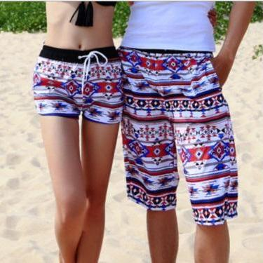 Graffiti Beach Shorts Men Lovers Sh..