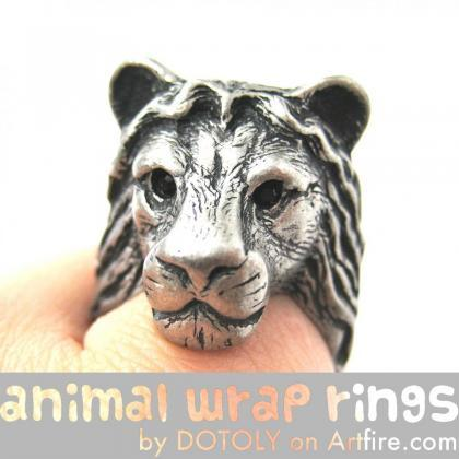 3D Adjustable Realistic Lion Animal..