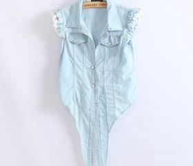 Light Blue Denim Sle..