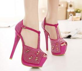 Fashion Rhinestone E..