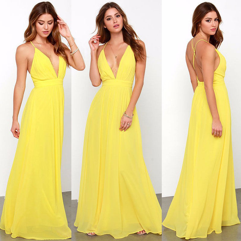 Summer Maxi Cocktail Dresses