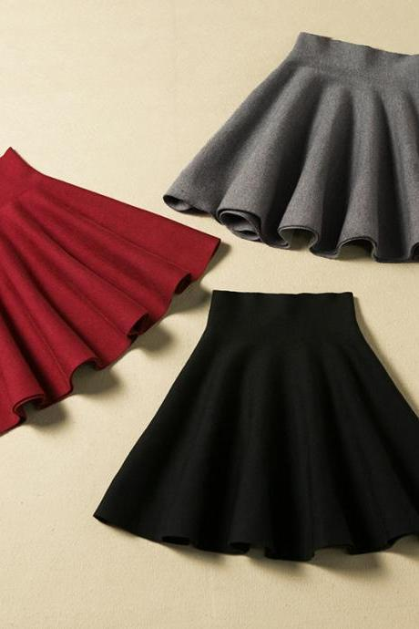 Lovely Mini Skirt For Autumn Or Winter Nice Skirt