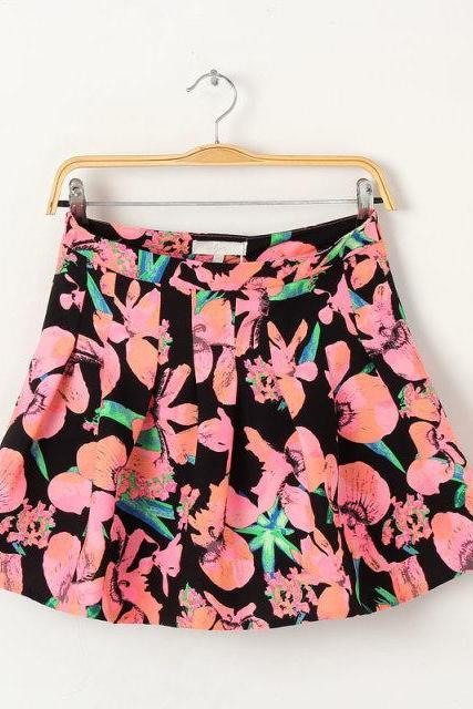 Printed Slim Skirts Wq724G