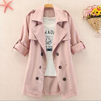 Double Lines Button Jacket for Women