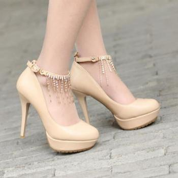 New Stylish Handmade High Heel Pumps