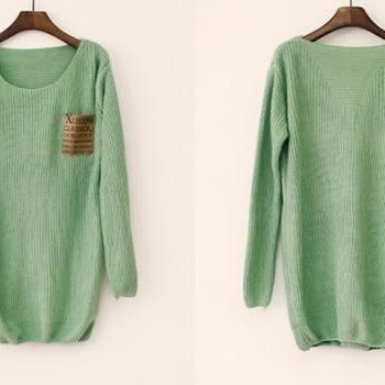 Mint Loose Sweater