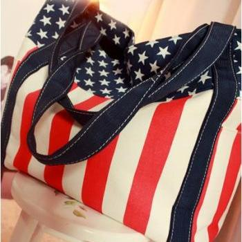 USA Flag Handbag