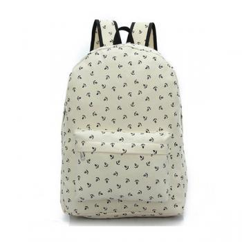 Full Anchor Printed Backpack 0627023
